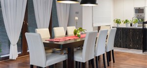 Three Beautiful Designs for Your Dining Room Floor